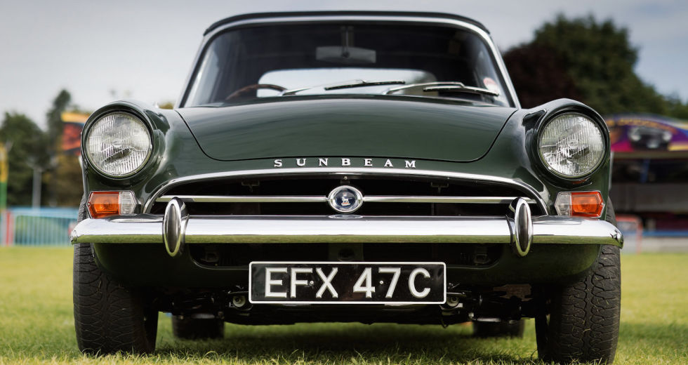 The AC Cobra wasn't the only British roaster Carroll Shelby stuffed a Ford V8 into. The other was this, the Sunbeam Tiger, which previously existed as the four-cylinder Sunbeam Alpine. Prices on these are rising, but they're still a bargain compared with the Cobra.