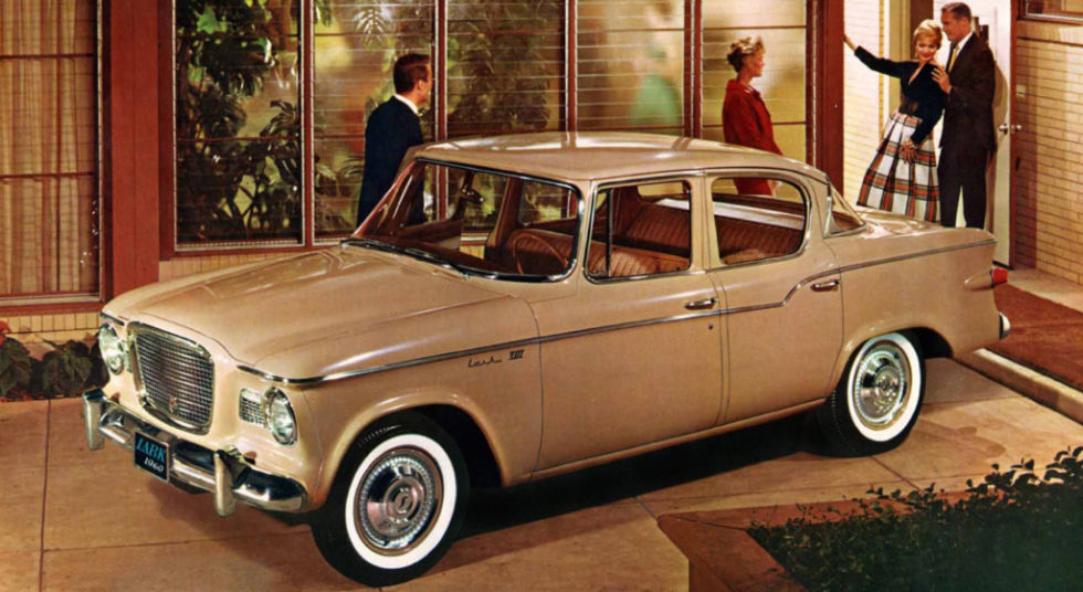 "Never having achieved the success of the American ""Big Three"" Studebaker has always been doomed to obscurity. The Lark was one of the more interesting compact cars available in the early-1960s, and they're somewhat of a bargain now. You could even buy a Super Lark with a supercharged V8–the prototype for the muscle cars that dominated the 1960s."