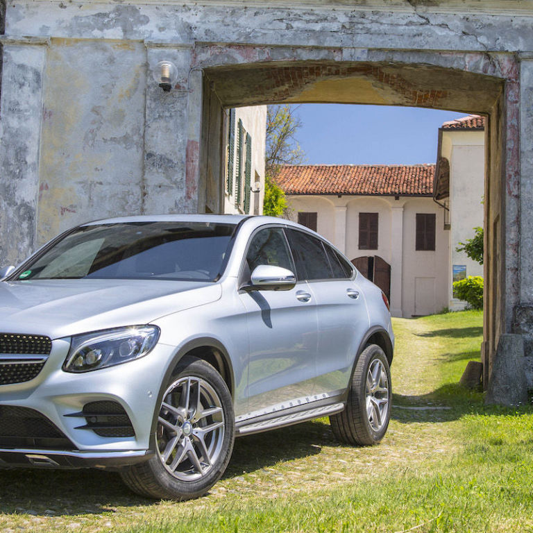 The Mercedes-Benz GLC Coupe Is The SUV That Wants To Play