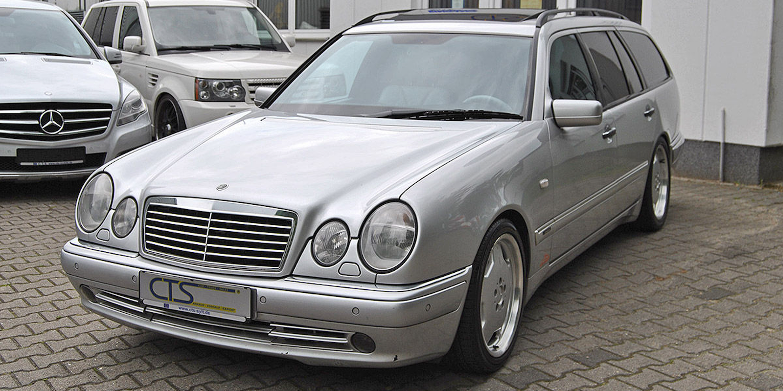 A mercedes e55 amg wagon once owned by michael schumacher for Mercedes benz e55 amg wagon for sale