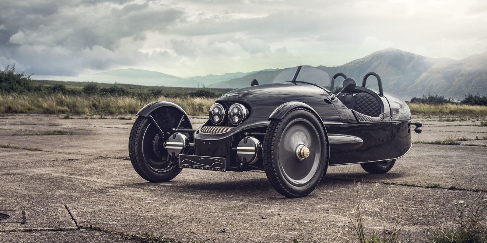 Morgan Ev3 Debut First Morgan 3 Wheeler Electric Car