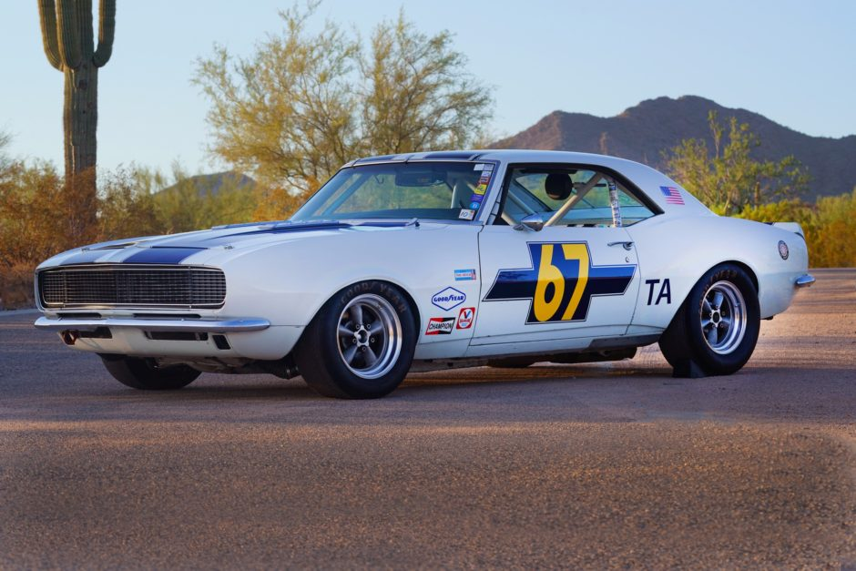 This Historic Trans Am Car Is For Sale And Already Entered