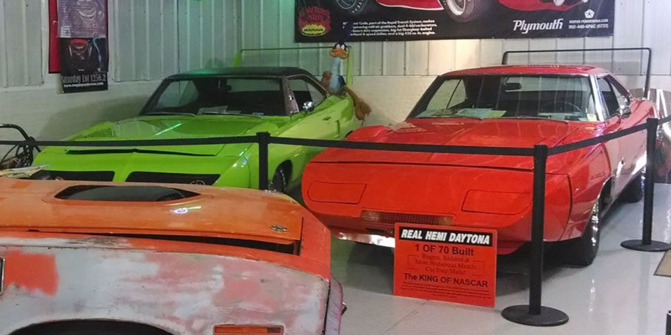 "Well, we promised you rare and ridiculous, and this listing is definitely both. You get two cars, a 1969 Dodge Charger Daytona and a Plymouth Superbird, with this auction. But while we'd like to follow that up with ""for the price of one,"" the $1.5 million Buy It Now price could buy you quite a few cars."