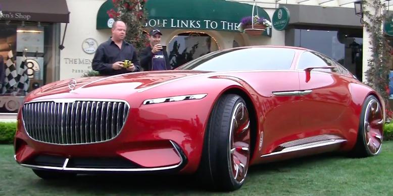 The mercedes maybach vision 6 concept car is actually a for Mercedes benz rc car