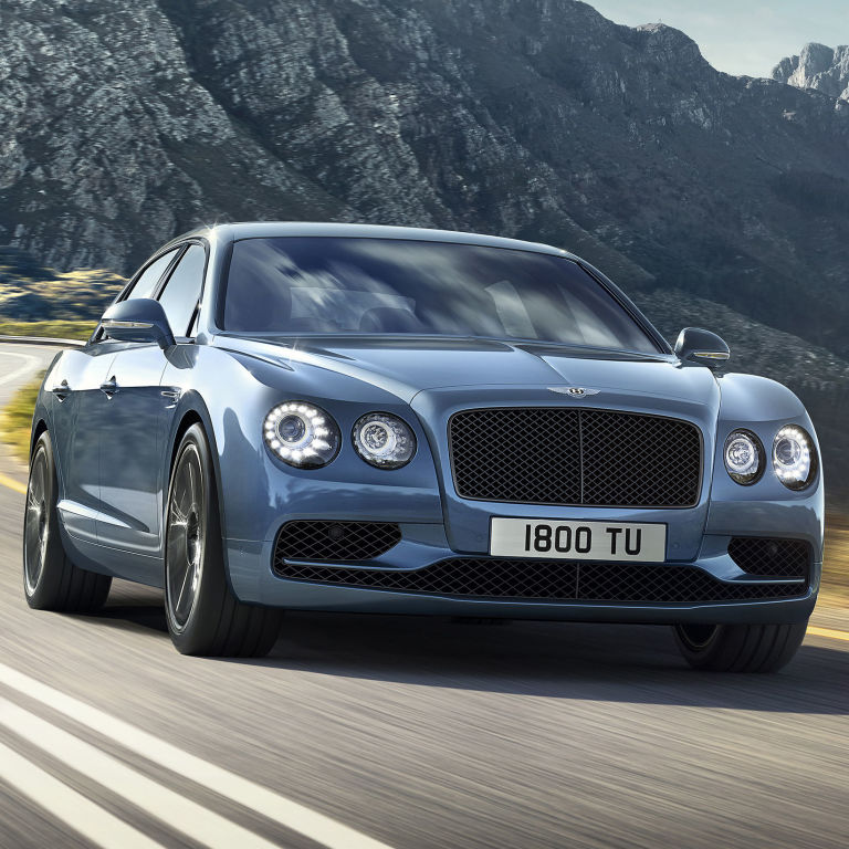 The Osbournes New Bentley Flying Spur: The New Bentley Flying Spur W12 S Can Go Faster Than Most