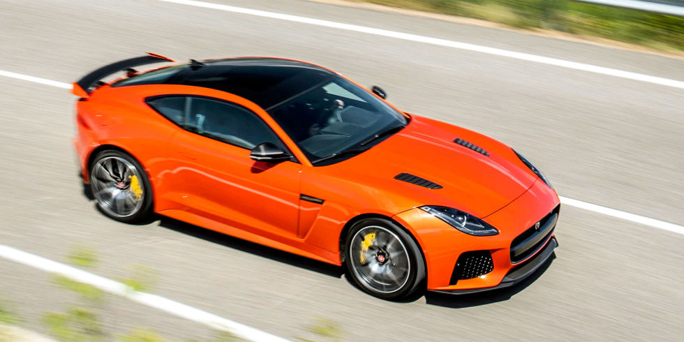 The 2017 Jaguar F-Type SVR Is More Raucous and More Refined Than