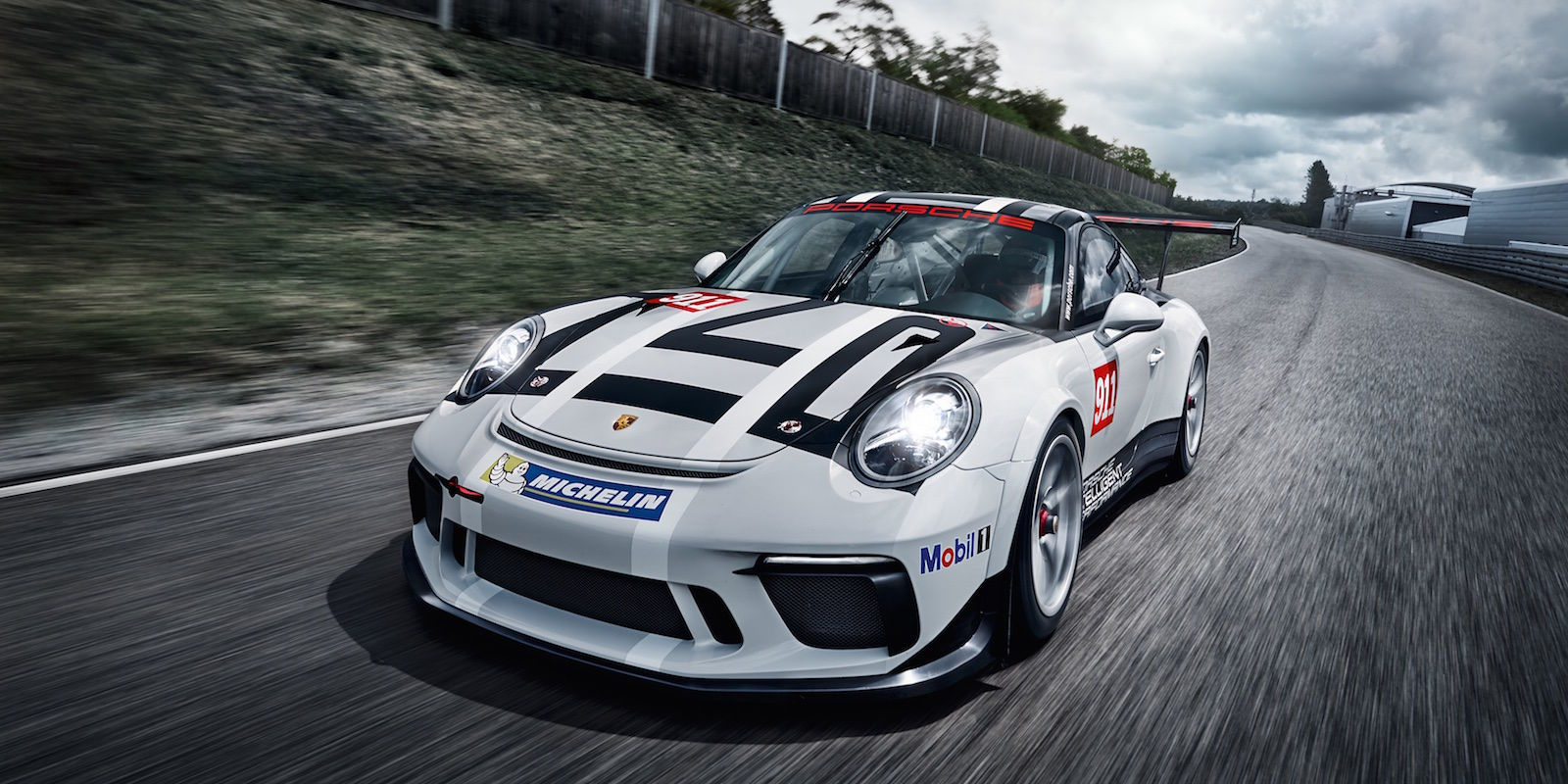 porsche 39 s new 911 gt3 cup comes with 485 hp and a glorious rear wing. Black Bedroom Furniture Sets. Home Design Ideas
