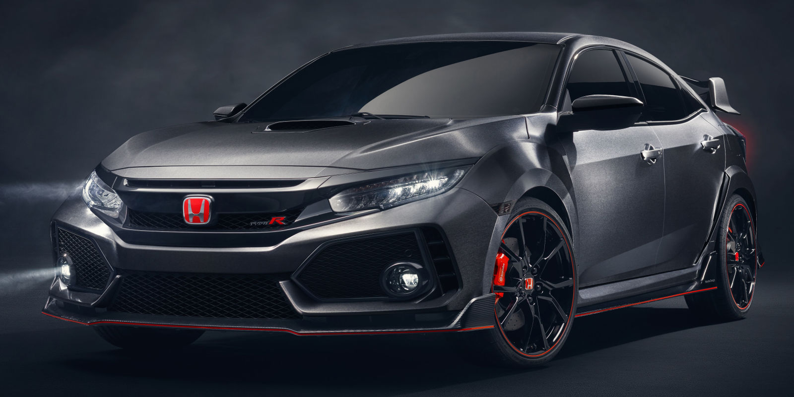 new civic type r 2017 civic type r prototype revealed. Black Bedroom Furniture Sets. Home Design Ideas