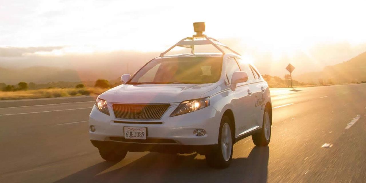 Google Autonomous Car - Self-Driving Car Crash