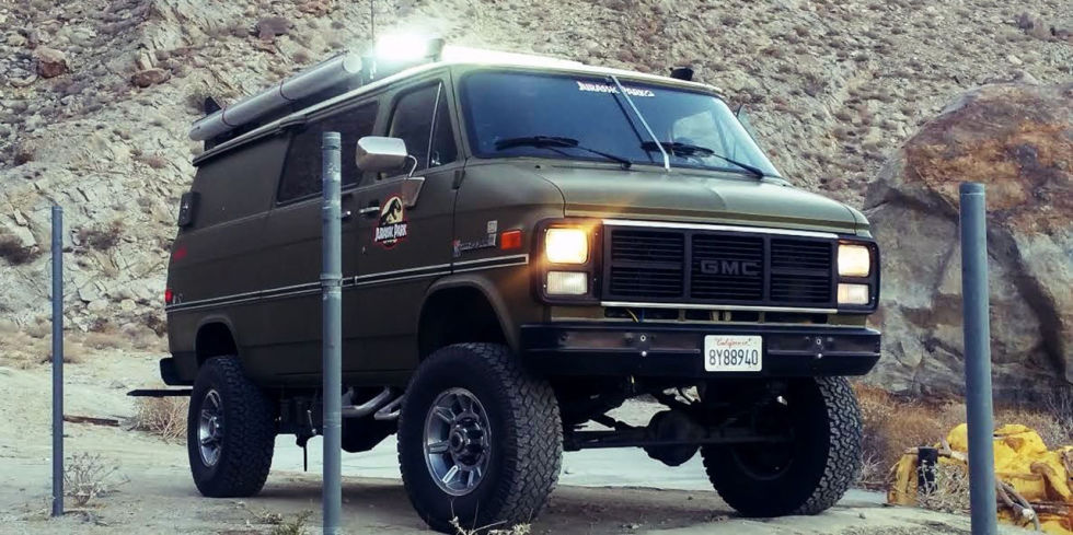 SUVs are all the rage these days, but we all know vans are more practical. And the only thing cooler than a van is a four-wheel-drive van. Think of all the adventures you could go on in this thing. Heck, it was even almost used in Jurassic Park. You know you'd totally spend $18,500 to own it.