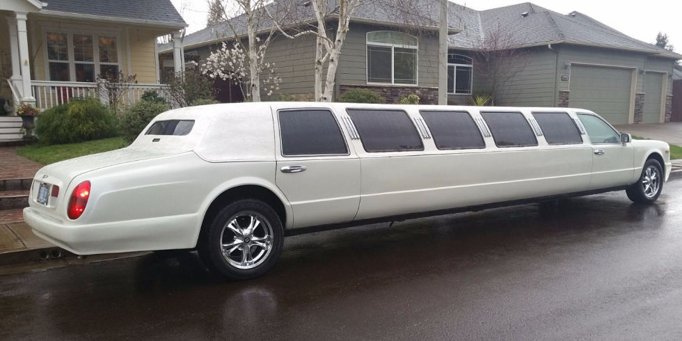 """No,"" you say. ""That's not a Lincoln limo. It's obviously a Bentley Arnage."" And that's exactly what the builder wanted you to say when they secretly put a Bentley front and rear end on a Lincoln Town Car limo. But with a $19,500 Buy It Now price, this one's way cheaper than an actual Bentley Arnage limo."