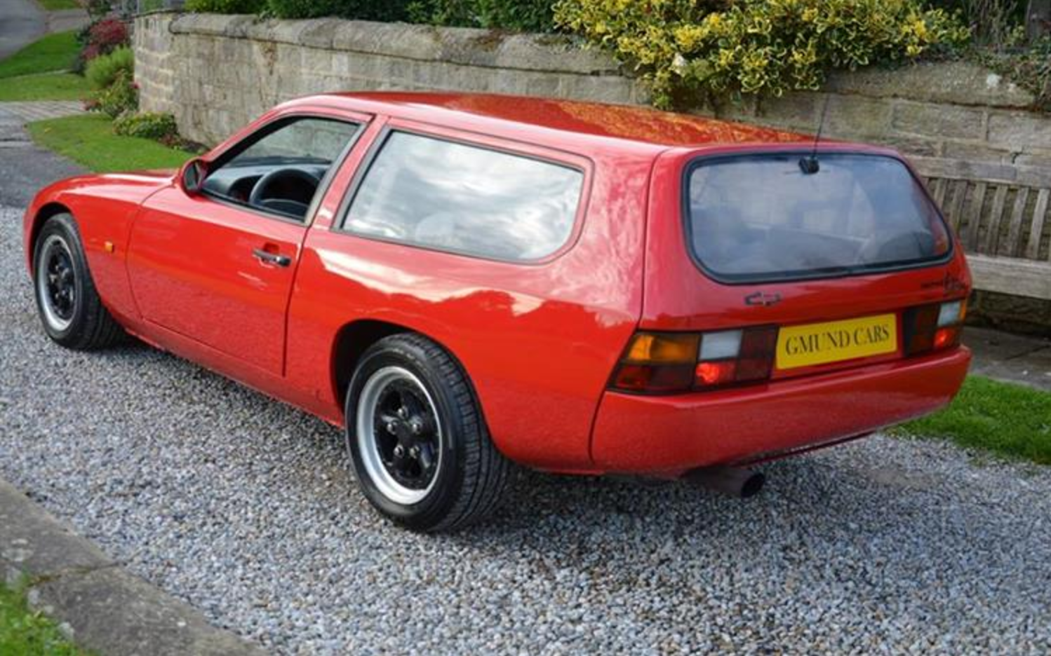 this ultra rare porsche 924 shooting brake is for sale. Black Bedroom Furniture Sets. Home Design Ideas