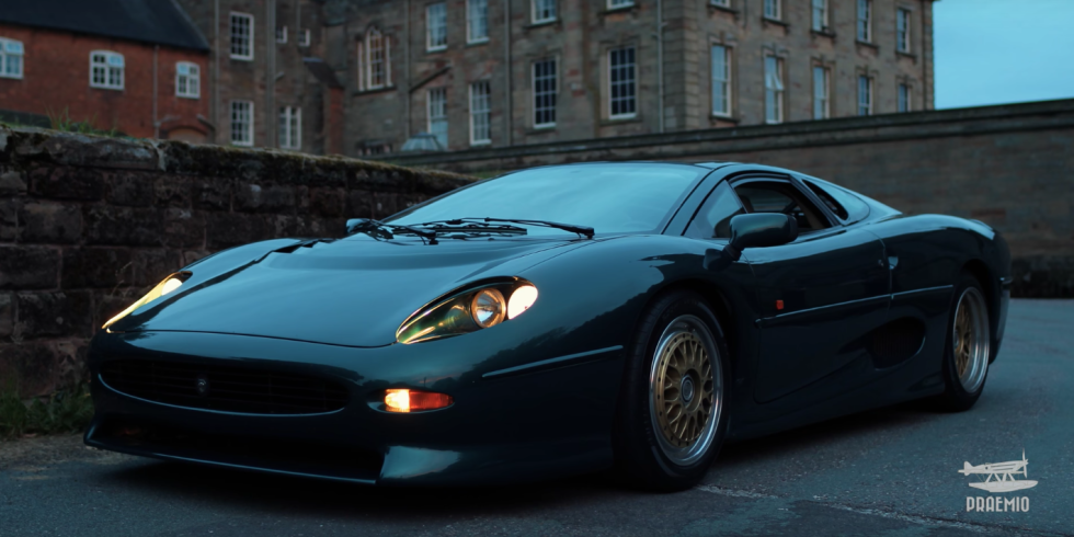 The Jaguar XJ220 Deserves All the Love and Care
