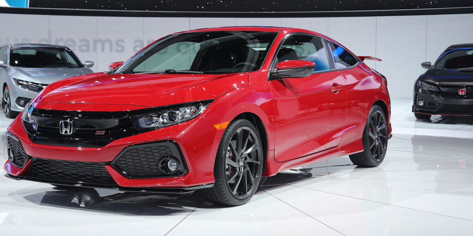 2017 honda civic si vs type r high performance turbocharged hondas. Black Bedroom Furniture Sets. Home Design Ideas