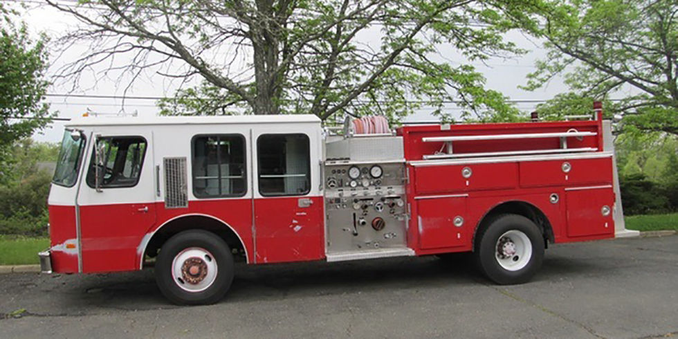 Unless you're an actual firefighter, you probably have no need for a fire truck. But just because you don't need one doesn't mean you don't want one. And for less than $9000, you can have this one. Why you wouldn't buy it, we have no idea.