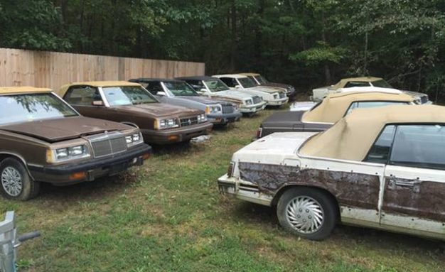 Someone's Selling 22 Chrysler LeBaron Convertibles on