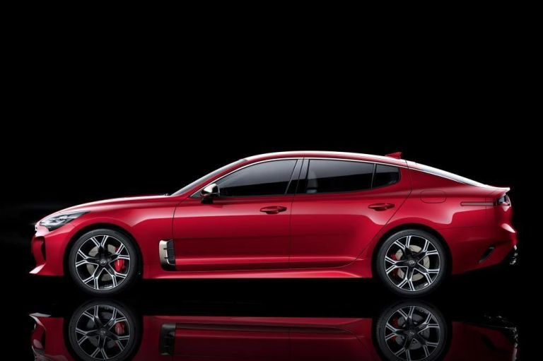 The best thing we've seen so far is, surprisingly, from Kia. The Kia Stinger GT is a 365 horsepower, rear-wheel drive sedan that looks like a mix of many of our favorite cars. We can't wait to drive it.