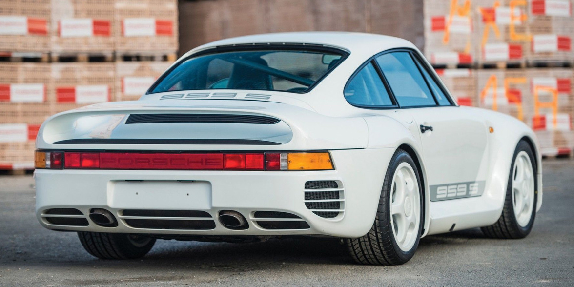 One of Just 29 Porsche 959 Sports Ever Built Is Going to ...