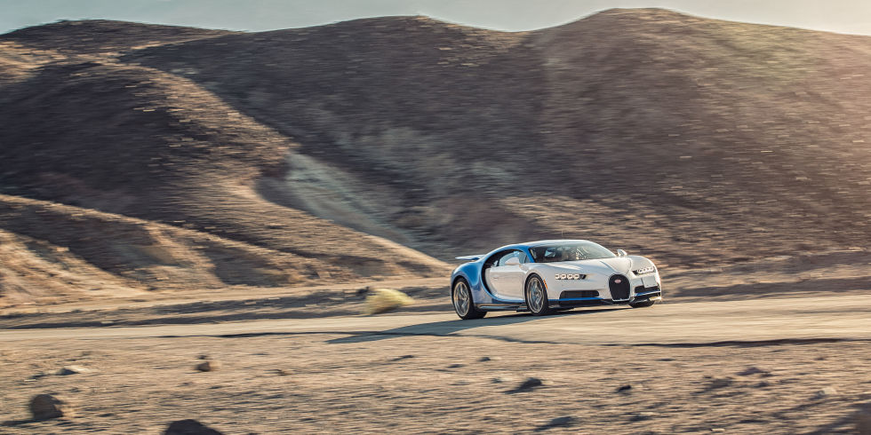 The Bugatti Chiron Apparently Rips From 0-250-0 MPH in Under a Minute
