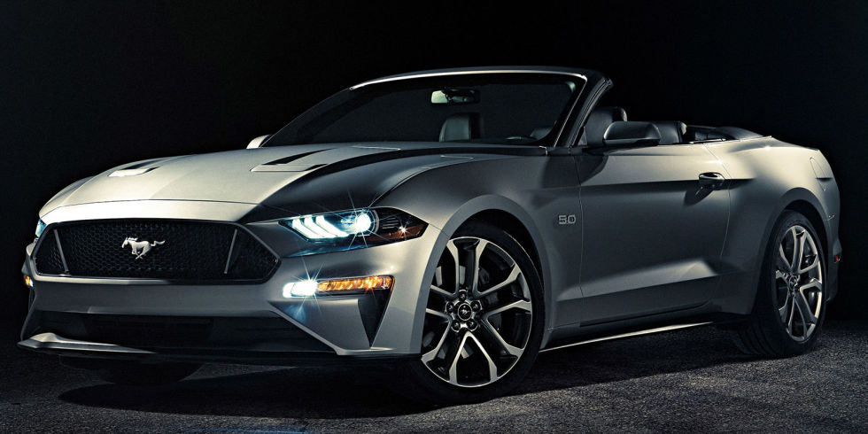 2018 ford mustang convertible new mustang