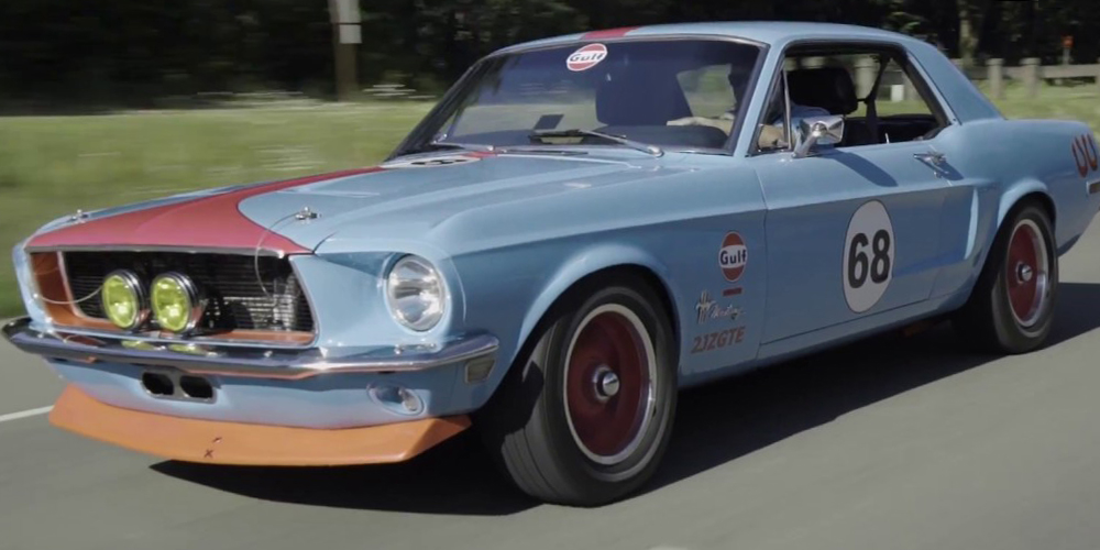 2JZ-Swapped Ford Mustang – 1968 Mustang With Toyota Supra Power