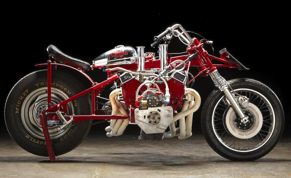 This World Record Motorcycle Is A V8 On Wheels And It S