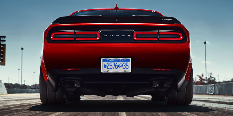 for months now rumors have been swirling that dodge is planning some kind of widebody challenger srt hellcat folks speculated that this lateral growth - Challenger Hellcat