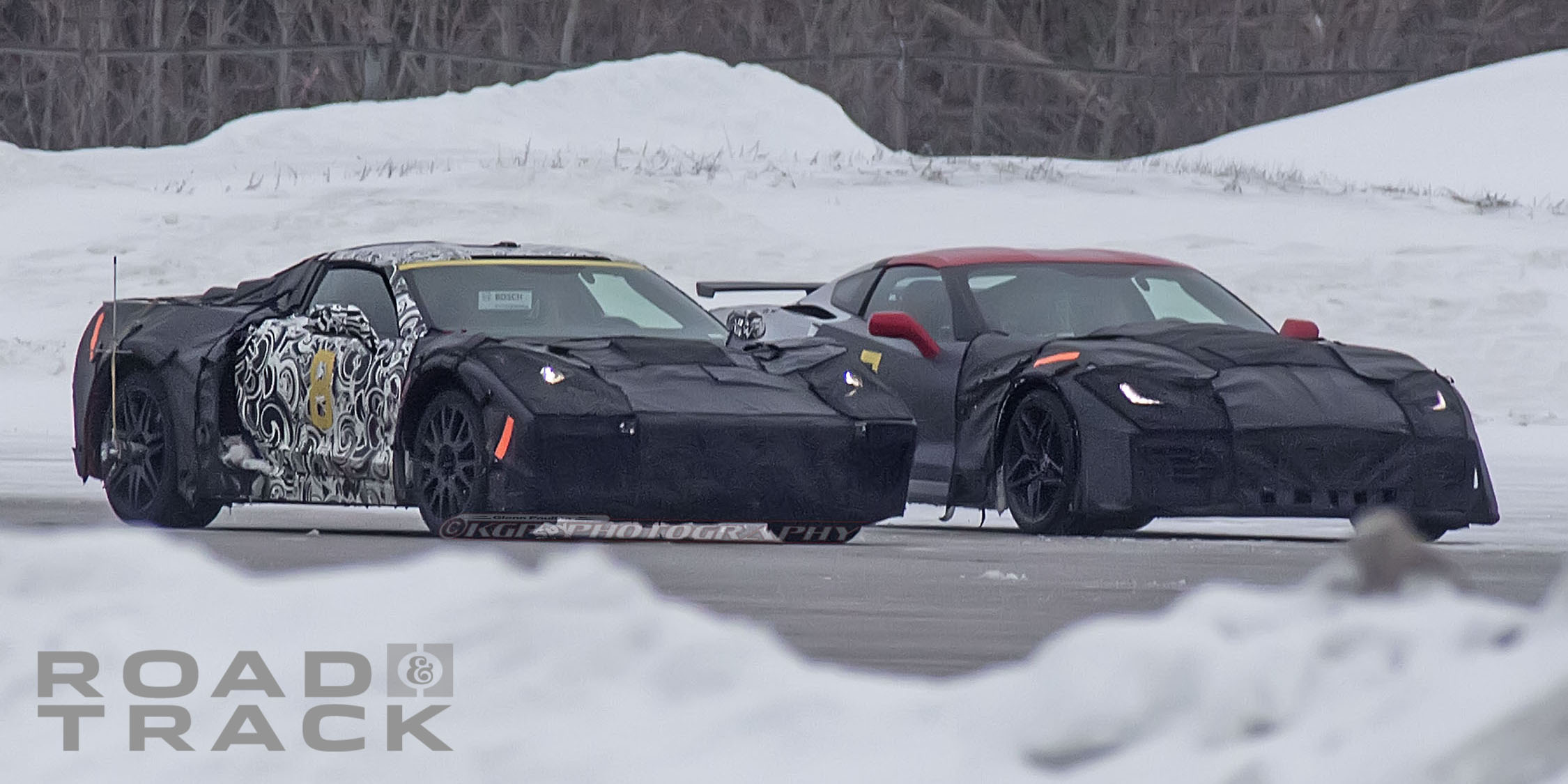 Mid-Engine C8 Corvette: Spy Photos