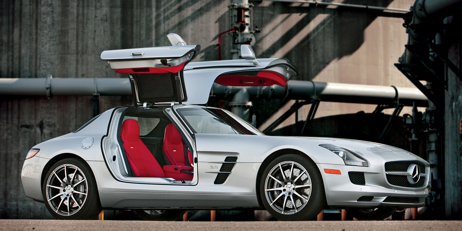 Archived first drive 2011 mercedes benz sls amg for Mercedes benz route 17