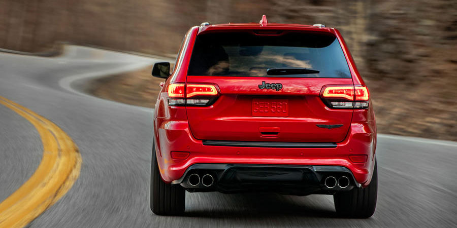 Jeep Grand Cherokee Trackhawk Hellcat Powered Jeep