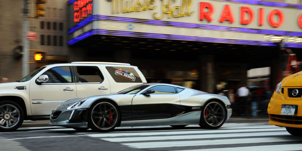 The 1224 Horsepower Rimac Concept One Is the Perfect Hypercar for the City