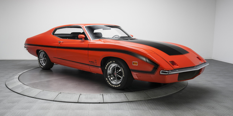 one of only two prototypes ever built the torino king cobra was meant to be fords answer to the dodge charger daytona in nascar - Ford Torino King Cobra