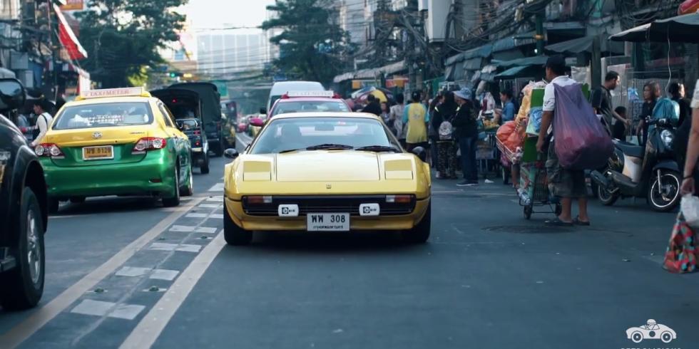 This Ferrari 308 GTB Is Daily Driven in Bangkok