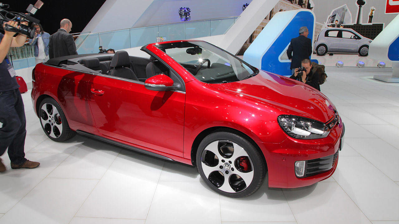 photos 2013 volkswagen gti cabriolet. Black Bedroom Furniture Sets. Home Design Ideas