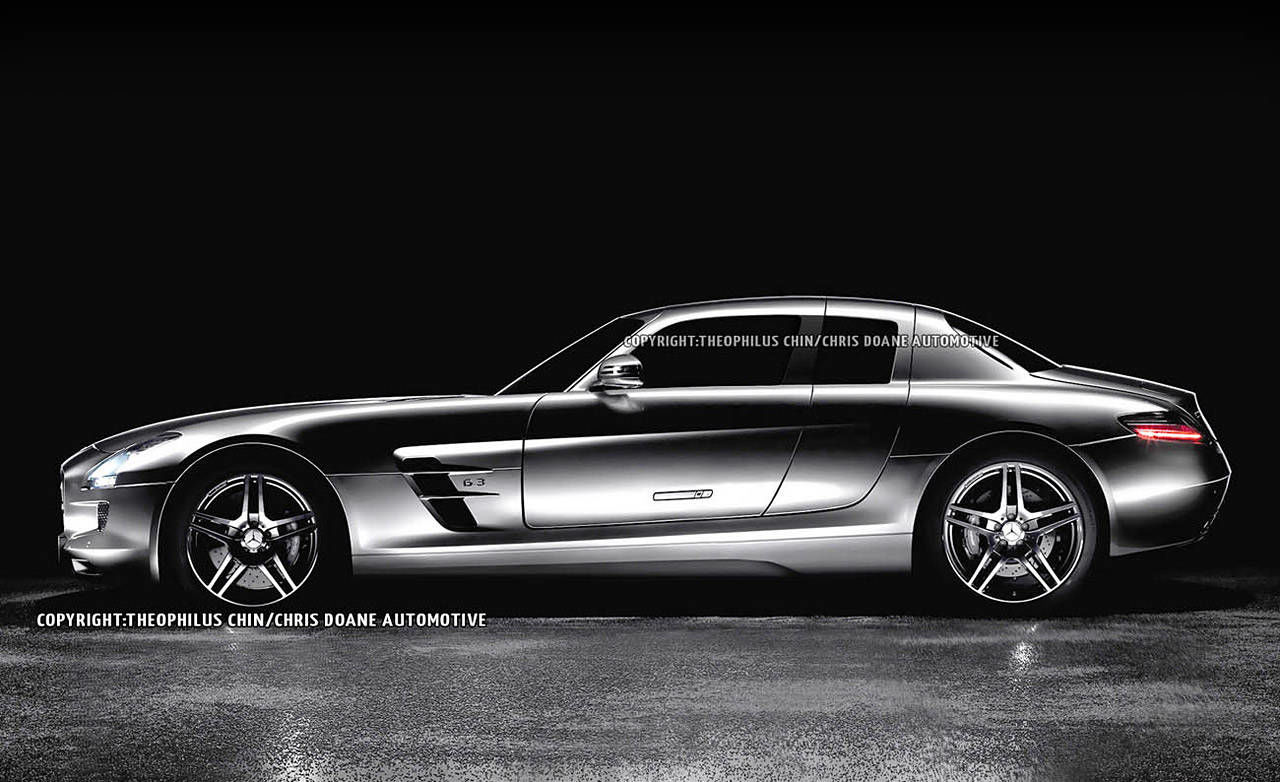 Photos 2014 mercedes benz sls amg 4 door for Mercedes benz 4 door