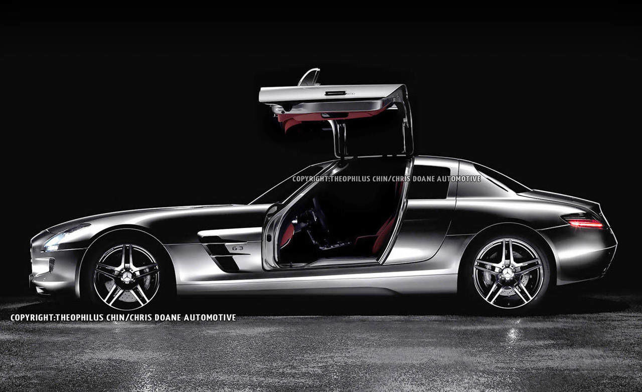 photos 2014 mercedes benz sls amg 4 door. Black Bedroom Furniture Sets. Home Design Ideas
