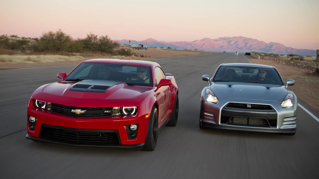 Photos 2012 Chevrolet Camaro Zl1 Vs 2013 Nissan Gt R Premium