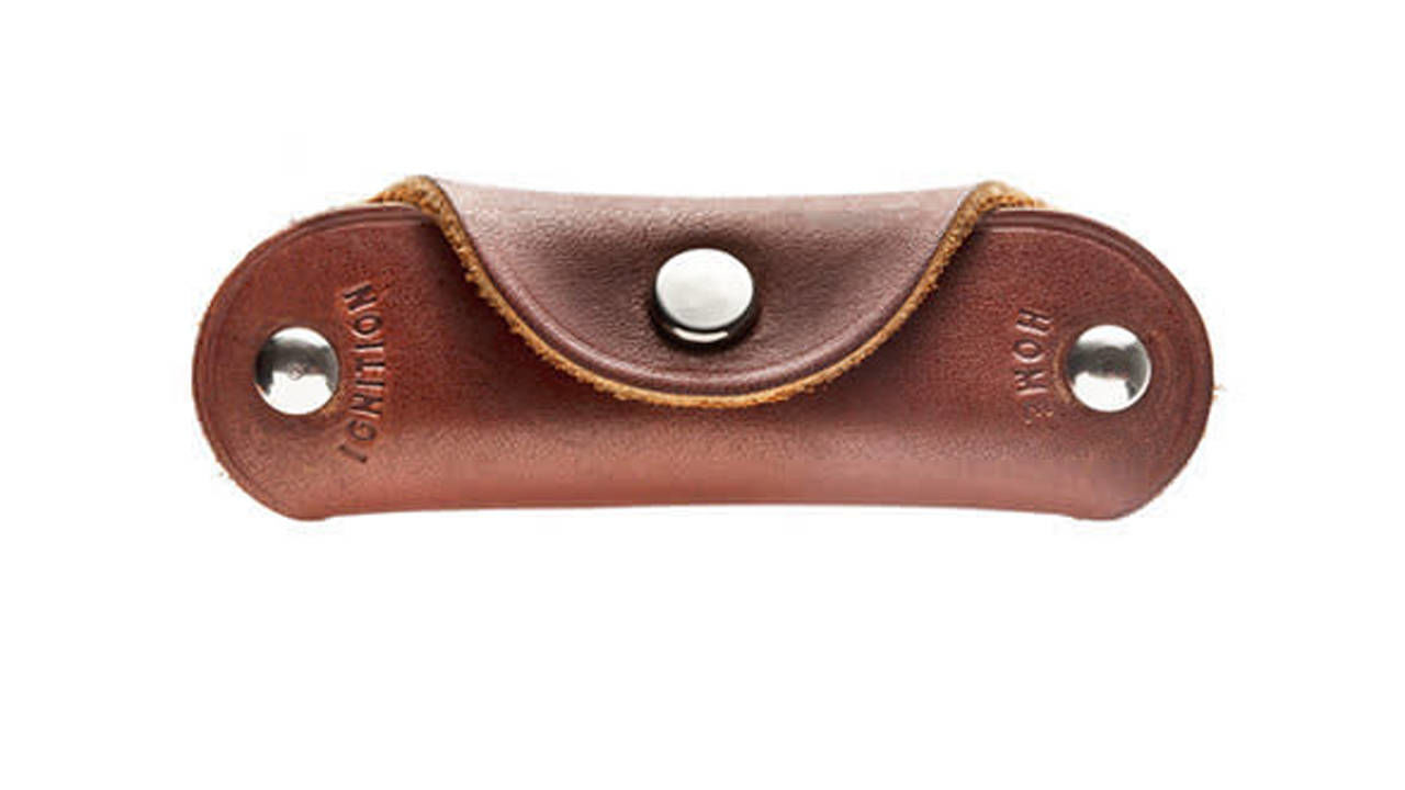 Kaufmann Mercantile Leather Key Holder Protects Smartphones Protect Your Ce