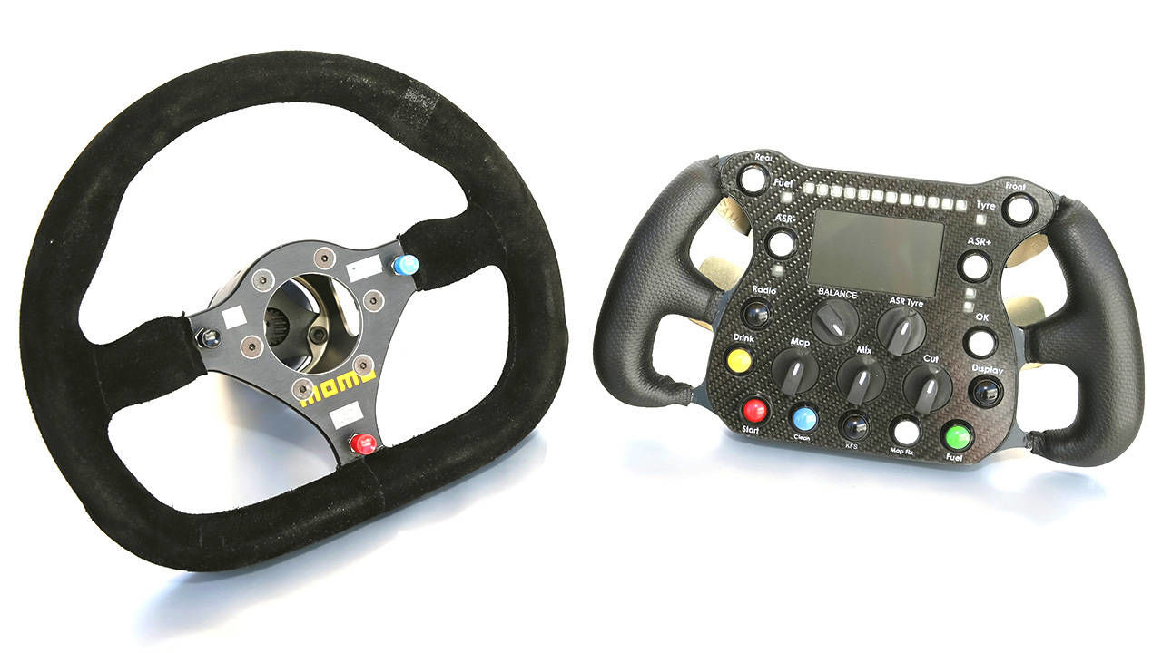 Steering Wheel Evolution Racing Steering Wheels For F1 To