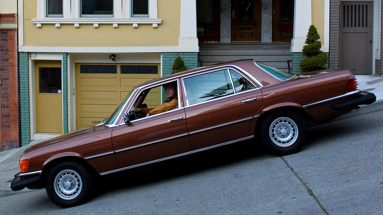 1977 mercedes benz 450sel 6 9 daily driver for peter lace for Mercedes benz in san francisco