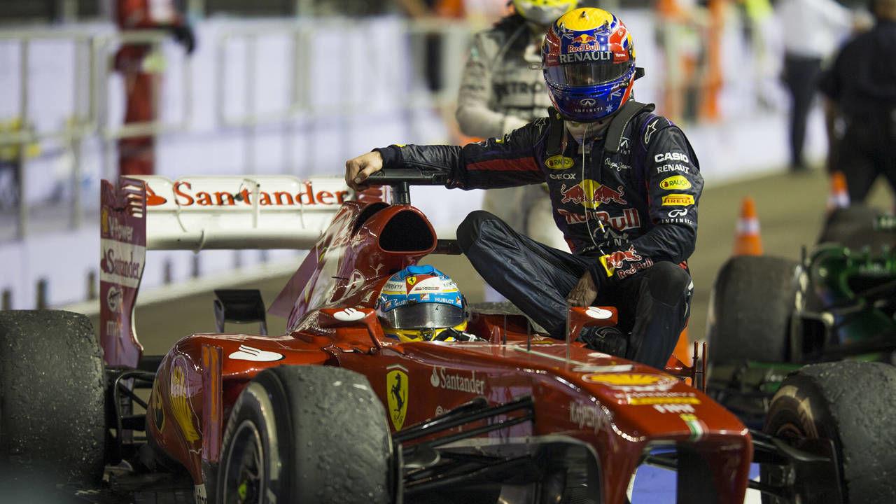 F1 grid for brazilian gp