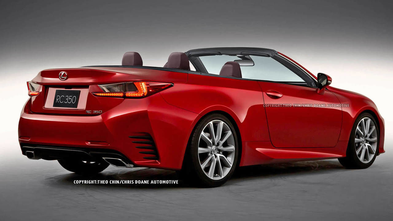 2015 lexus rc convertible first looks. Black Bedroom Furniture Sets. Home Design Ideas