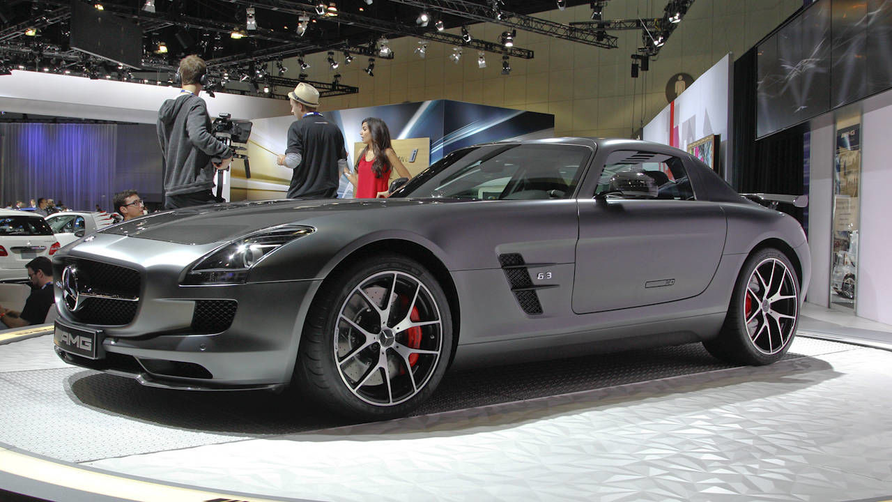 2015 Mercedes Benz Sls Amg Gt Final Edition Photos
