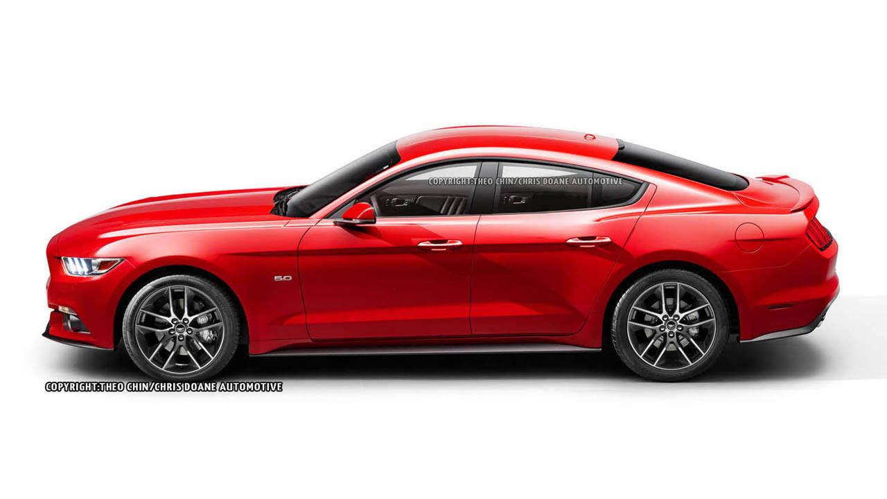 2014 Ford Mustang Sedan Photos