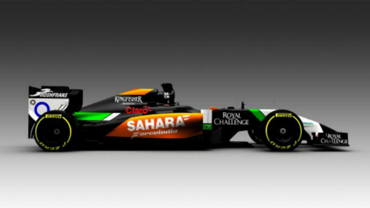 2014 force india f1 car race cars. Black Bedroom Furniture Sets. Home Design Ideas