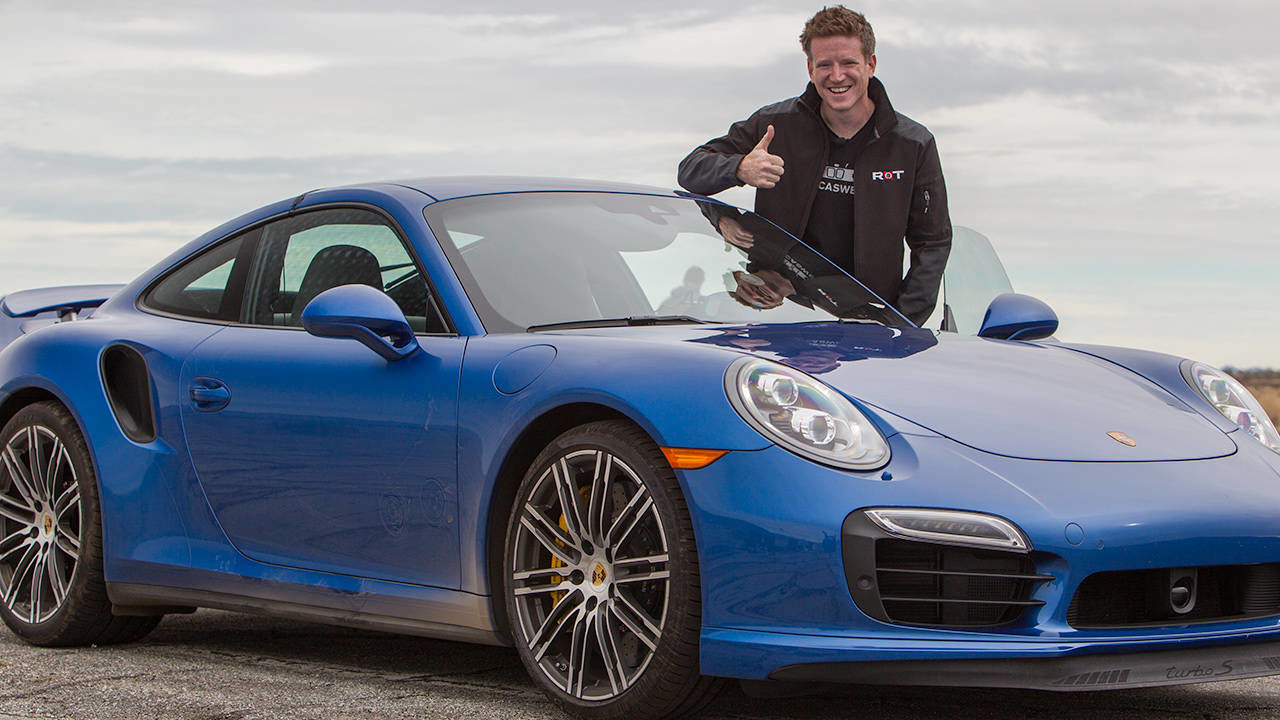 view photos from the launch control test of a 2014 porsche 911 turbo s conducted - Porsche 911 Turbo 2014 Blue