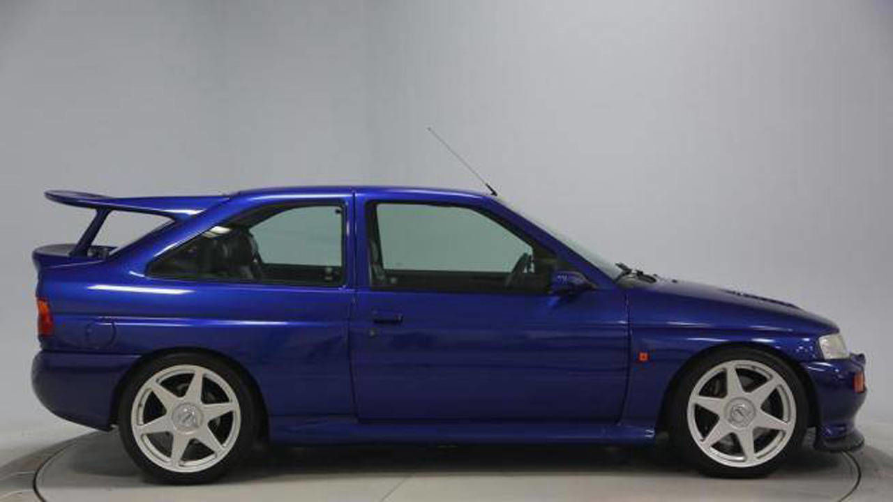 Grey Market 1995 Ford Escort RS Cosworth - Photos