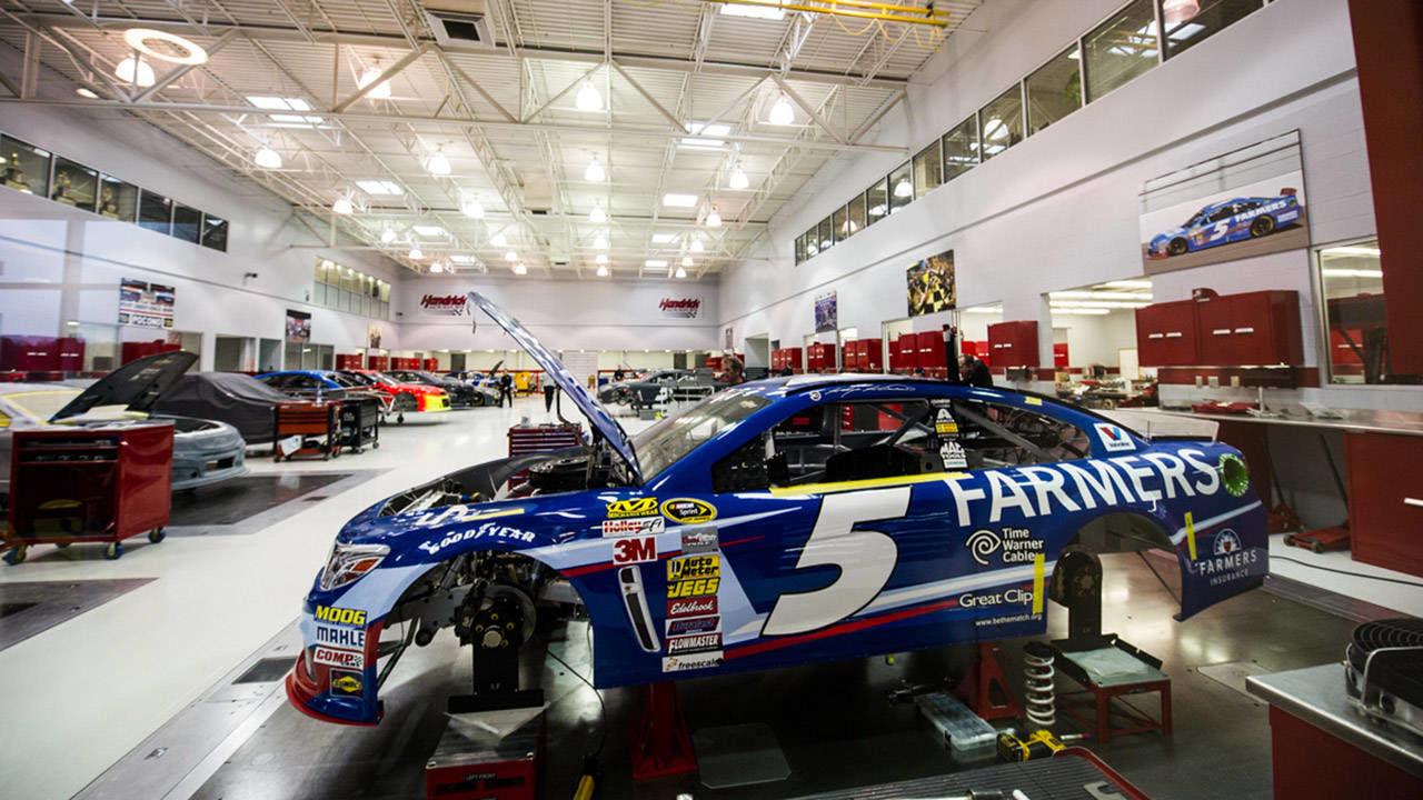 Hendrick Motorsports Race Shop - Photos