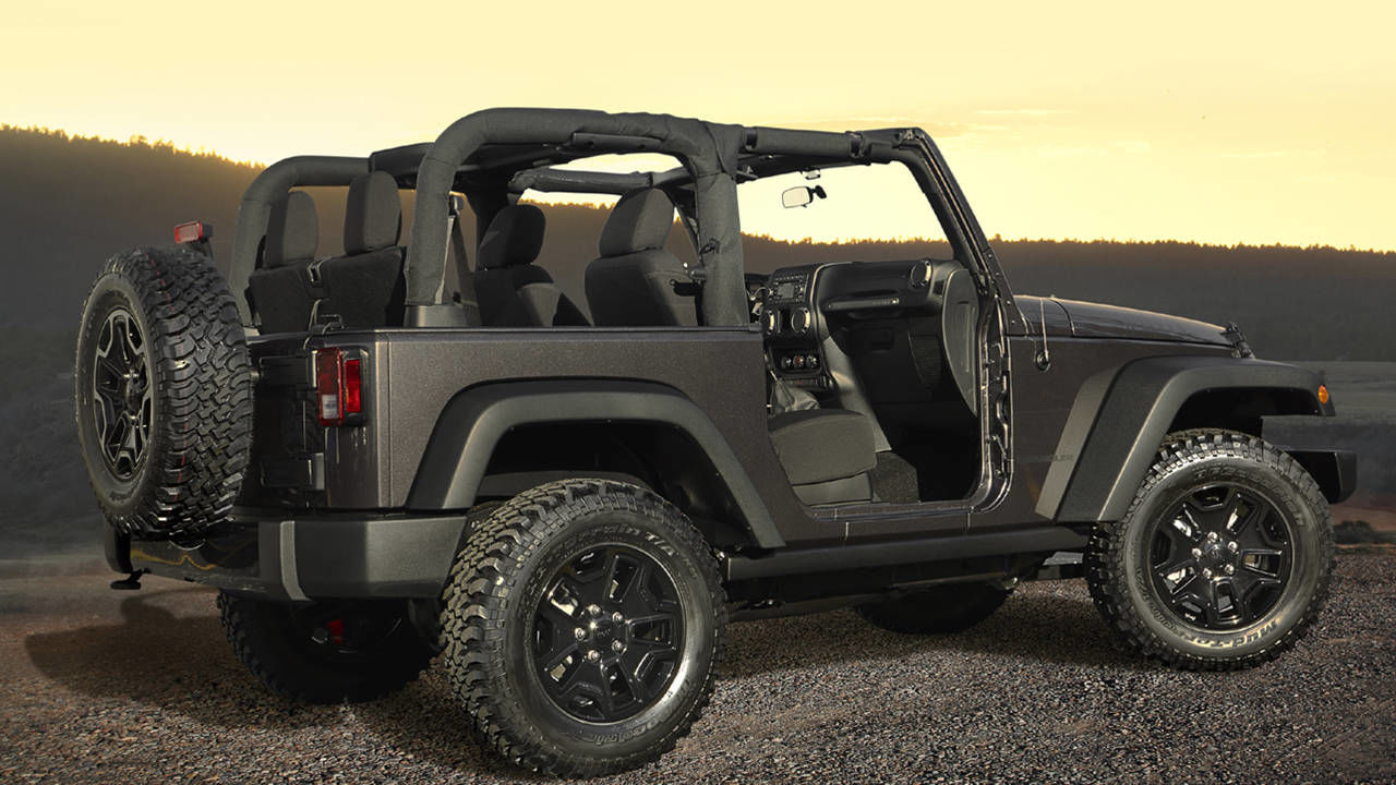Jeep Considers Power Top Wrangler 2014 Geneva Motor Show