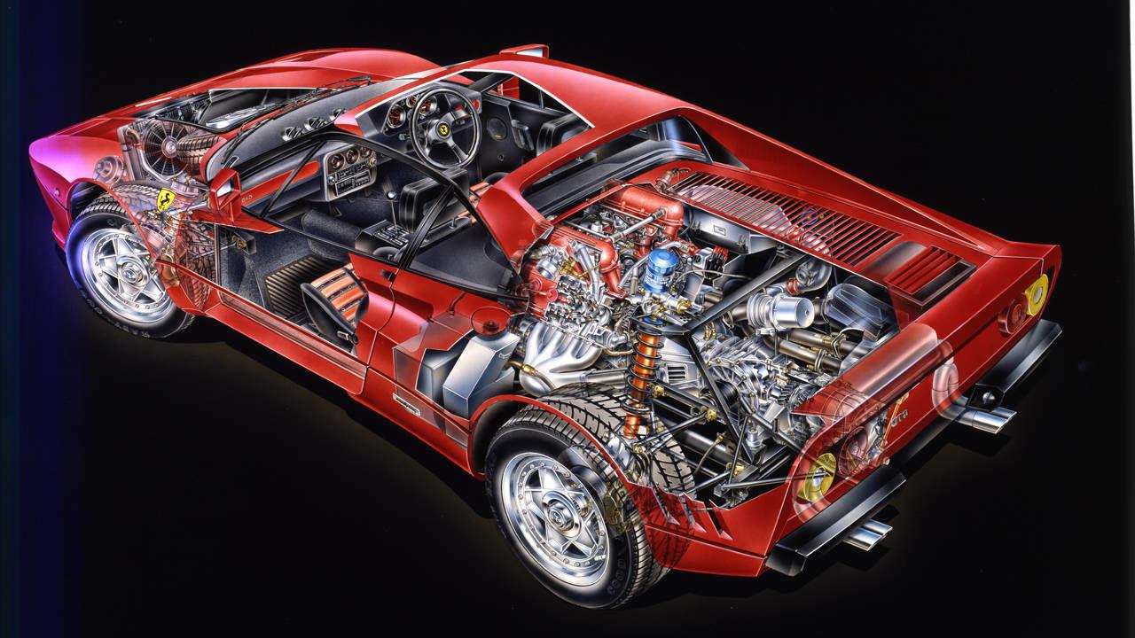 1984 Ferrari 288 Gto Drive Flashback